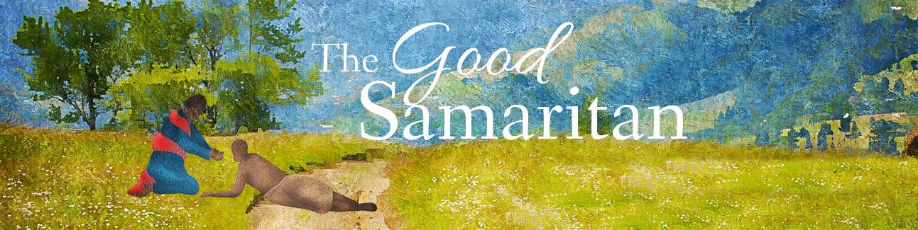 Painting of the Good Samaritan Story